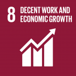 Sustainable goal UN 8 Decent work and economic growth -Smart-Education